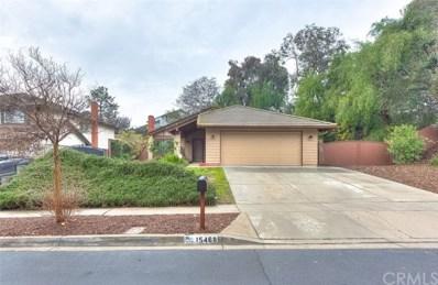 15468 Duke Avenue, Chino Hills, CA 91709 - MLS#: TR19013100