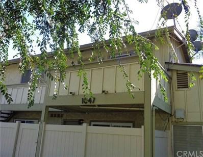 1047 W Francis Street UNIT E, Ontario, CA 91762 - MLS#: TR19028140