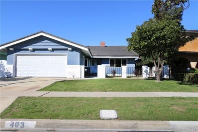 403 S Vicki Lane, Anaheim, CA 92804 - MLS#: TR19058905