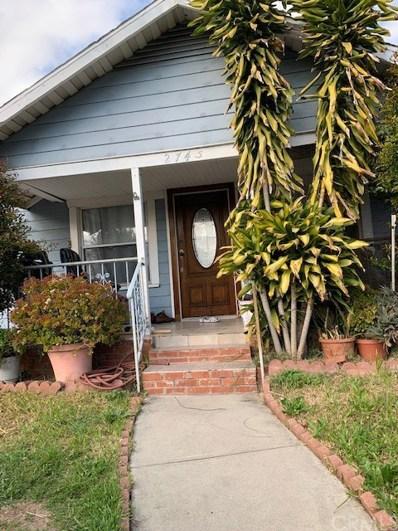 2745 GLASSEL Street, Los Angeles, CA 90026 - MLS#: TR19073440