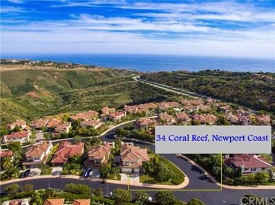 34 Coral Reef, Newport Coast, CA 92657 - MLS#: TR19136544
