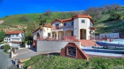 16325 Rainbow Ridge Road, Chino Hills, CA 91709 - #: TR19237400