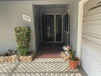 1507 Benedict Avenue, Claremont, CA 91711 - MLS#: TR19250641