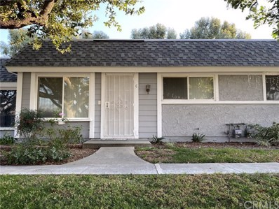 123 N Kodiak Street UNIT C, Anaheim, CA 92807 - MLS#: TR20009029