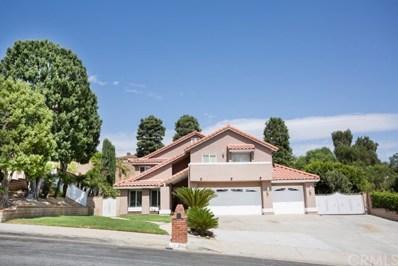12785 Homeridge Lane, Chino Hills, CA 91709 - MLS#: TR20196507