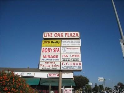 4107 E Live Oak Avenue, Arcadia, CA 91006 - MLS#: WS17159304