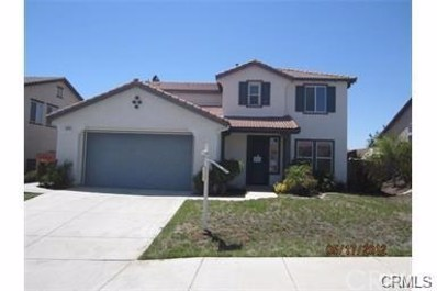 34805 Heritage Oaks Court, Winchester, CA 92596 - MLS#: WS17181809