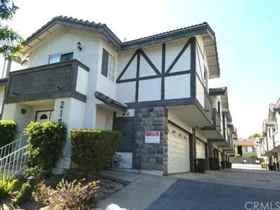215 E Commonwealth Avenue UNIT C, Alhambra, CA 91801 - MLS#: WS17208376