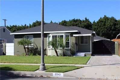 5343 Adenmoor Avenue, Lakewood, CA 90713 - MLS#: WS17242640