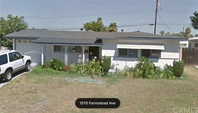 1510 Farmstead Avenue, Hacienda Hts, CA 91745 - MLS#: WS17245182