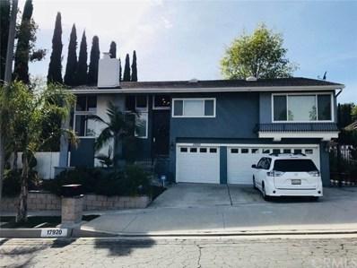 17920 Gallineta Street, Rowland Heights, CA 91748 - MLS#: WS17262086
