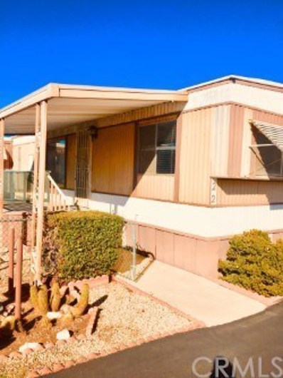 8655 Santa Fe Avenue UNIT 22, Hesperia, CA 92345 - MLS#: WS18015417