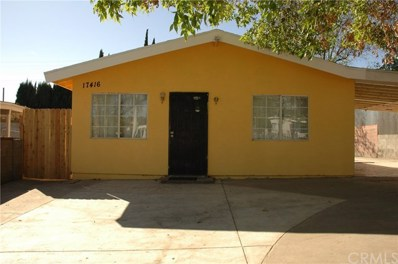 17416 Gemini Street, La Puente, CA 91744 - MLS#: WS18024295