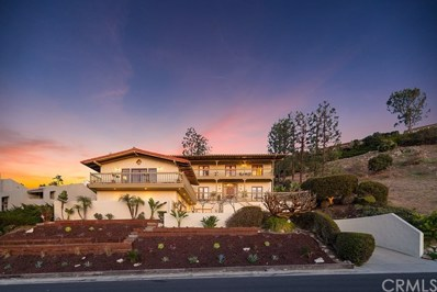 1245 Via Coronel, Palos Verdes Estates, CA 90274 - MLS#: WS18042352