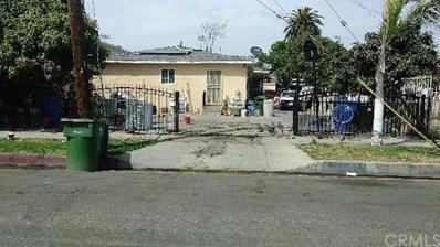 1645 E 109th Street, Los Angeles, CA 90059 - MLS#: WS18074599