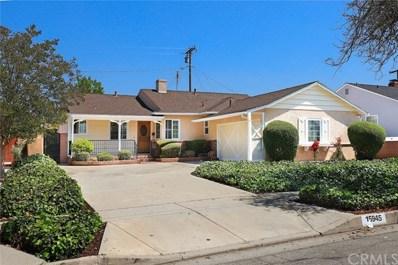 15945 Lashburn Street, Whittier, CA 90603 - MLS#: WS18105915