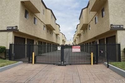 4338 Walnut Street UNIT E, Baldwin Park, CA 91706 - MLS#: WS18142178