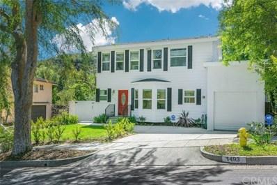 1493 Scenic Drive, Pasadena, CA 91103 - MLS#: WS18145970