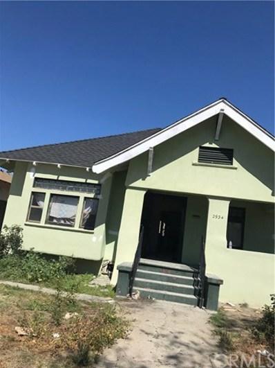 2934 S Hobart Boulevard, Los Angeles, CA 90018 - MLS#: WS18186571