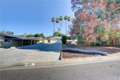 223 E Shady Grove Drive, Riverside, CA 92507 - MLS#: WS18225842