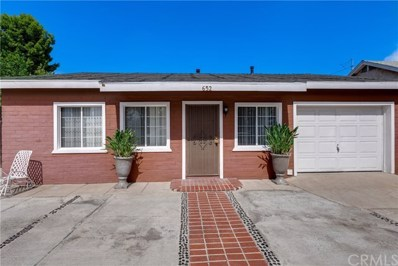 652 W California, Ontario, CA 91762 - MLS#: WS18238291