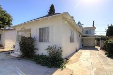 2678 Thorpe Avenue, Los Angeles, CA 90065 - MLS#: WS18249239