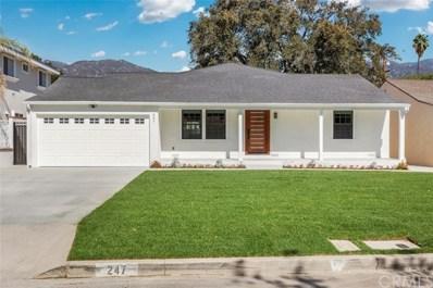 247 E Newman Avenue, Arcadia, CA 91006 - MLS#: WS18250131