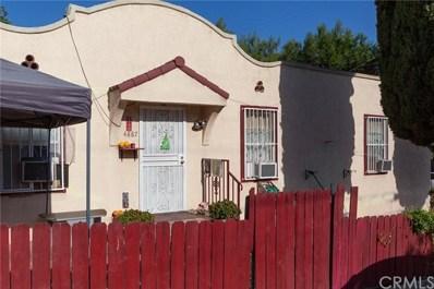 4887 Hillsdale Drive, El Sereno, CA 90032 - MLS#: WS18274850
