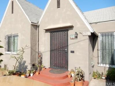 519 W 95th Street, Los Angeles, CA 90044 - MLS#: WS18279840