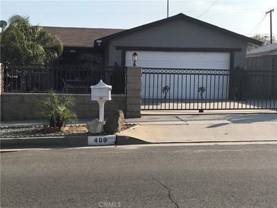 409 W 3rd Street, Perris, CA 92570 - MLS#: WS19045490