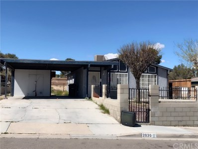 2020 Sequoia Drive, Barstow, CA 92311 - MLS#: WS19071242