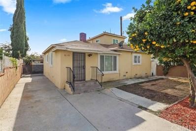 810 E Emerson Avenue, Monterey Park, CA 91755 - MLS#: WS19279187