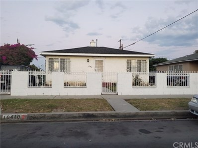 10410 Mary Avenue, Los Angeles, CA 90002 - MLS#: WS20184852