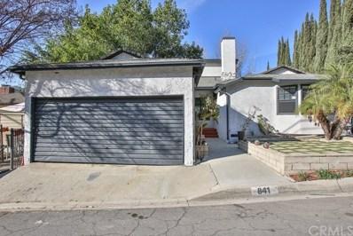 841 Mira Valle Street, Monterey Park, CA 91754 - MLS#: WS20262832