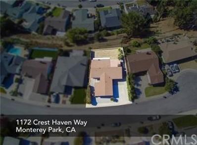1172 Crest Haven Way, Monterey Park, CA 91754 - MLS#: WS21026027