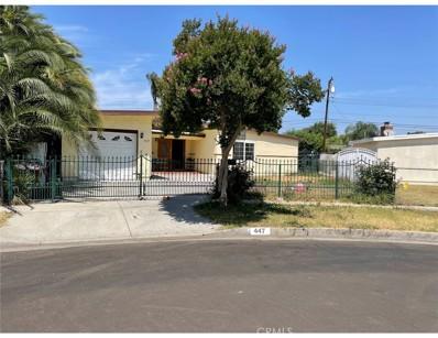 447 Foxworth Avenue, La Puente, CA 91744 - MLS#: WS21132417