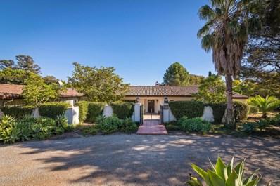 1429 E Mountain Dr, Santa Barbara, CA 93108 - #: 18-2855