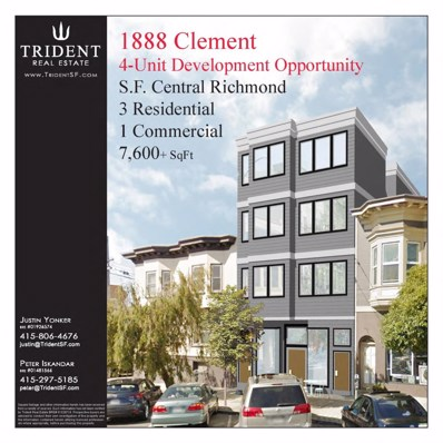 1888 Clement Street, San Francisco, CA 94121 - #: 474738