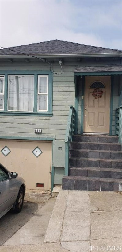 138 Parkview Avenue, Daly City, CA 94014 - #: 475314