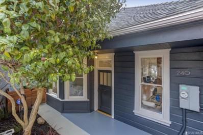 240 Winfield Street, San Francisco, CA 94110 - #: 481923