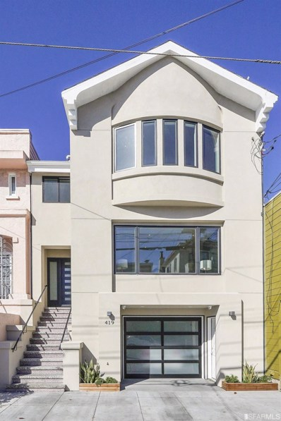 419 28th Avenue, San Francisco, CA 94121 - #: 490443