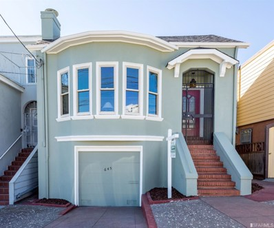 645 42nd Avenue, San Francisco, CA 94121 - #: 491036
