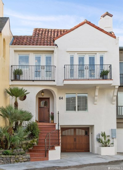 64 Grand View Avenue, San Francisco, CA 94114 - #: 492692