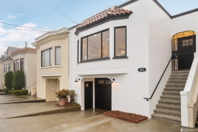 647 34th Avenue, San Francisco, CA 94121 - #: 493092
