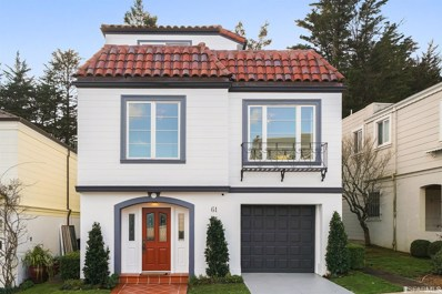 61 Rockwood Court, San Francisco, CA 94127 - #: 494082