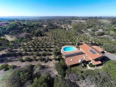 17122 El Mirador, Rancho Santa Fe, CA 92067 - MLS#: 160053829