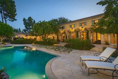 5292 Avenida Maravillas, Rancho Santa Fe, CA 92067 - MLS#: 160061941