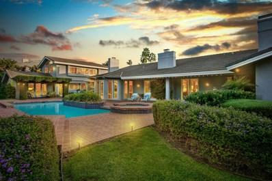 6246 Calle Del Alcazar, Lot 204, Rancho Santa Fe, CA 92067 - MLS#: 170026420