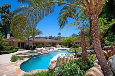 5041 El Secreto, Rancho Santa Fe, CA 92067 - MLS#: 170032427