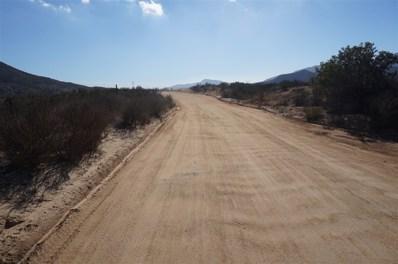 19037 Highway 94 1, Dulzura, CA 91917 - MLS#: 170035883